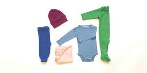 Bio Babykleider Hose Strampler Body Mützchen