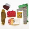 Set Babykleider Sommer aus Bio Merinowolle, Seide, Leinen Miniloop Abo-Box Basic