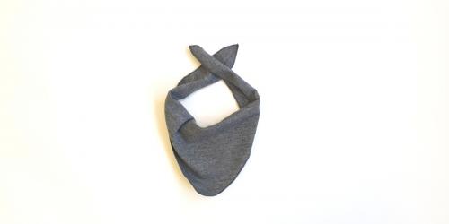 Baby Schal von Lilano grau-melange
